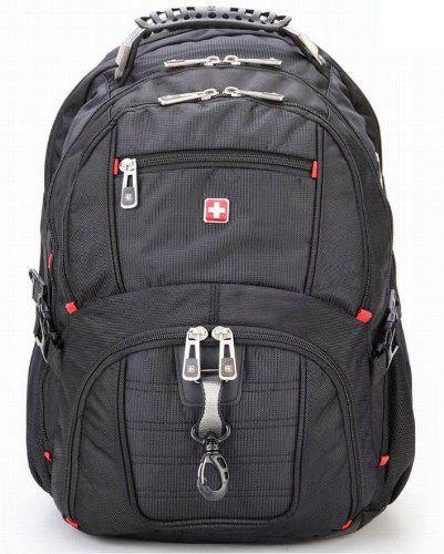 e12a80bbd2b Amazon.com : SWISSWIN Laptops backpack. Computer knapsack, rucksack  waterproof, bag for man woman stusents travelling, Camping, Hiking busin.