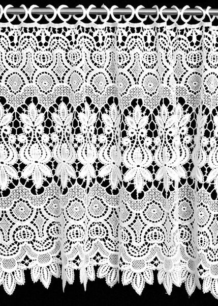 Macrame Lace Embroidered Curtains And Valances | Sheer, Lace And Blackout  Curtains And Panels |