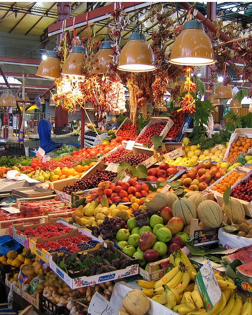 Fruit Stand Italy Italy Florence Italy Florence