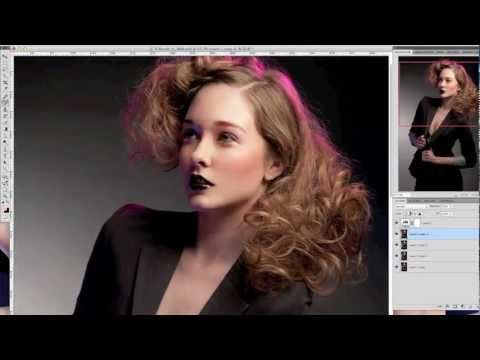 Fashion retouching tutorials.