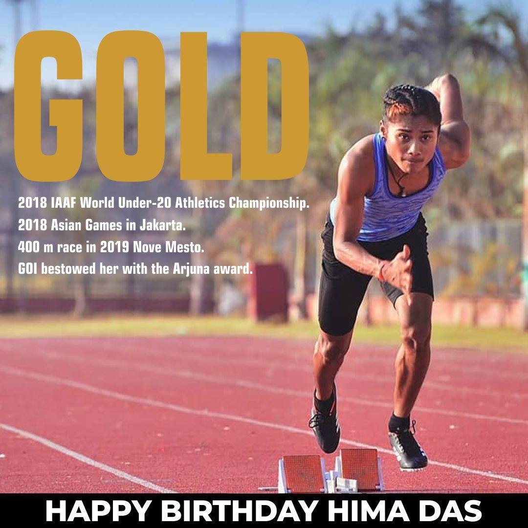 Hima Das Sprinter Biography Records Achievements Sports Birthday Sports Stars Commonwealth Games