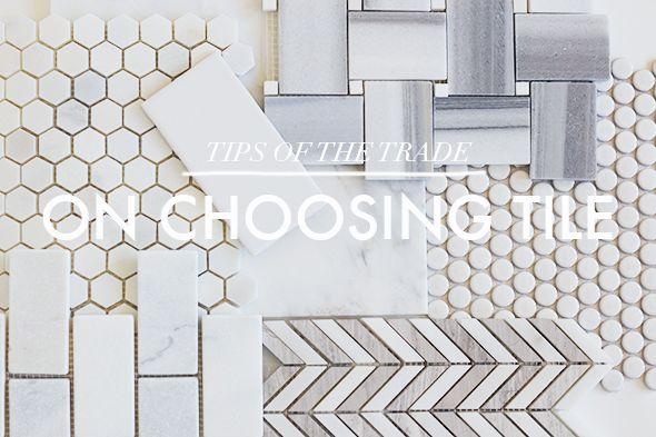 On Choosing Bathroom Tile Little Green Notebook Bloglovin Great Article