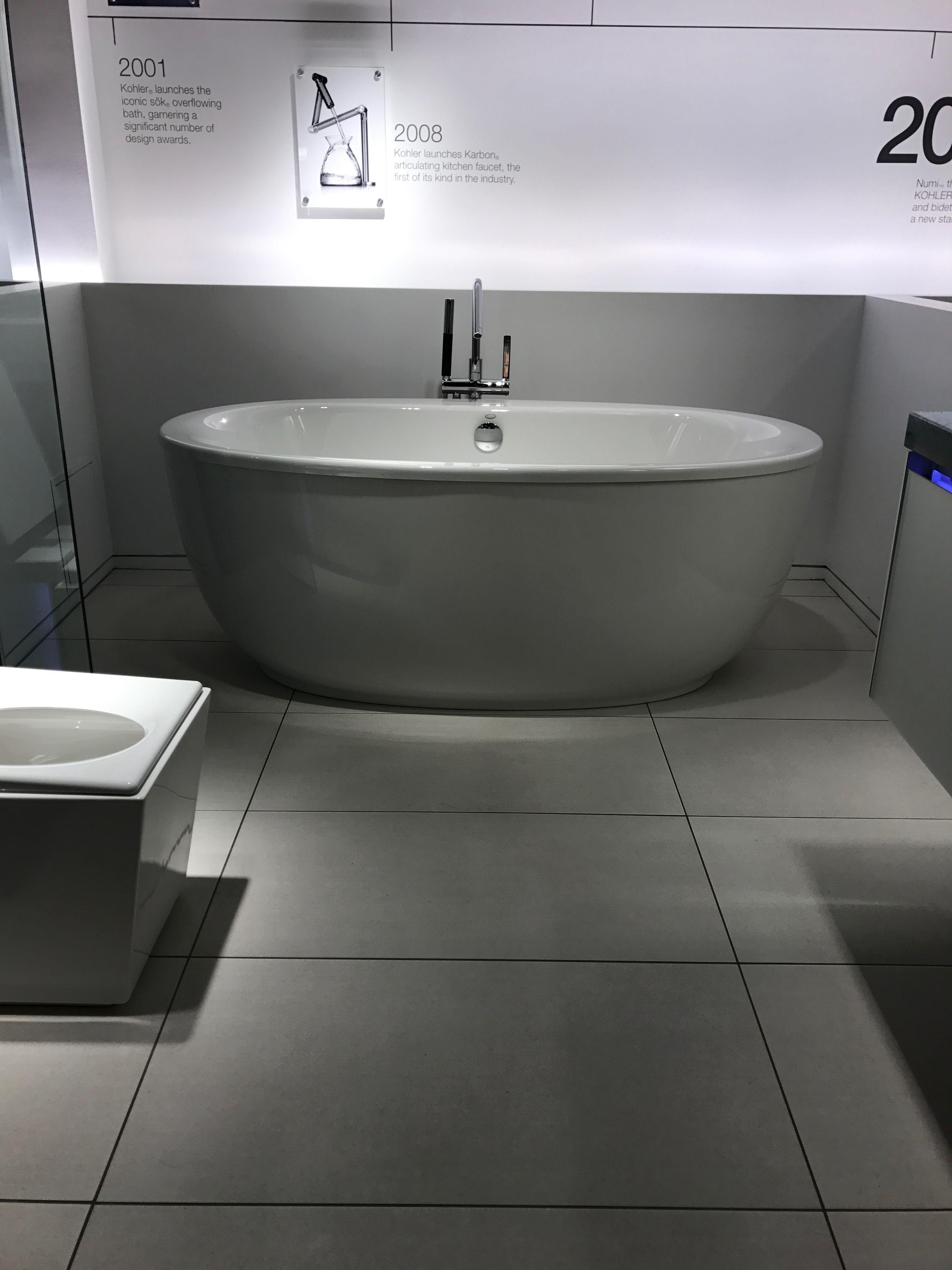 Kohler Sunstruck tub with fluted shroud | Bathroom Ideas | Pinterest ...