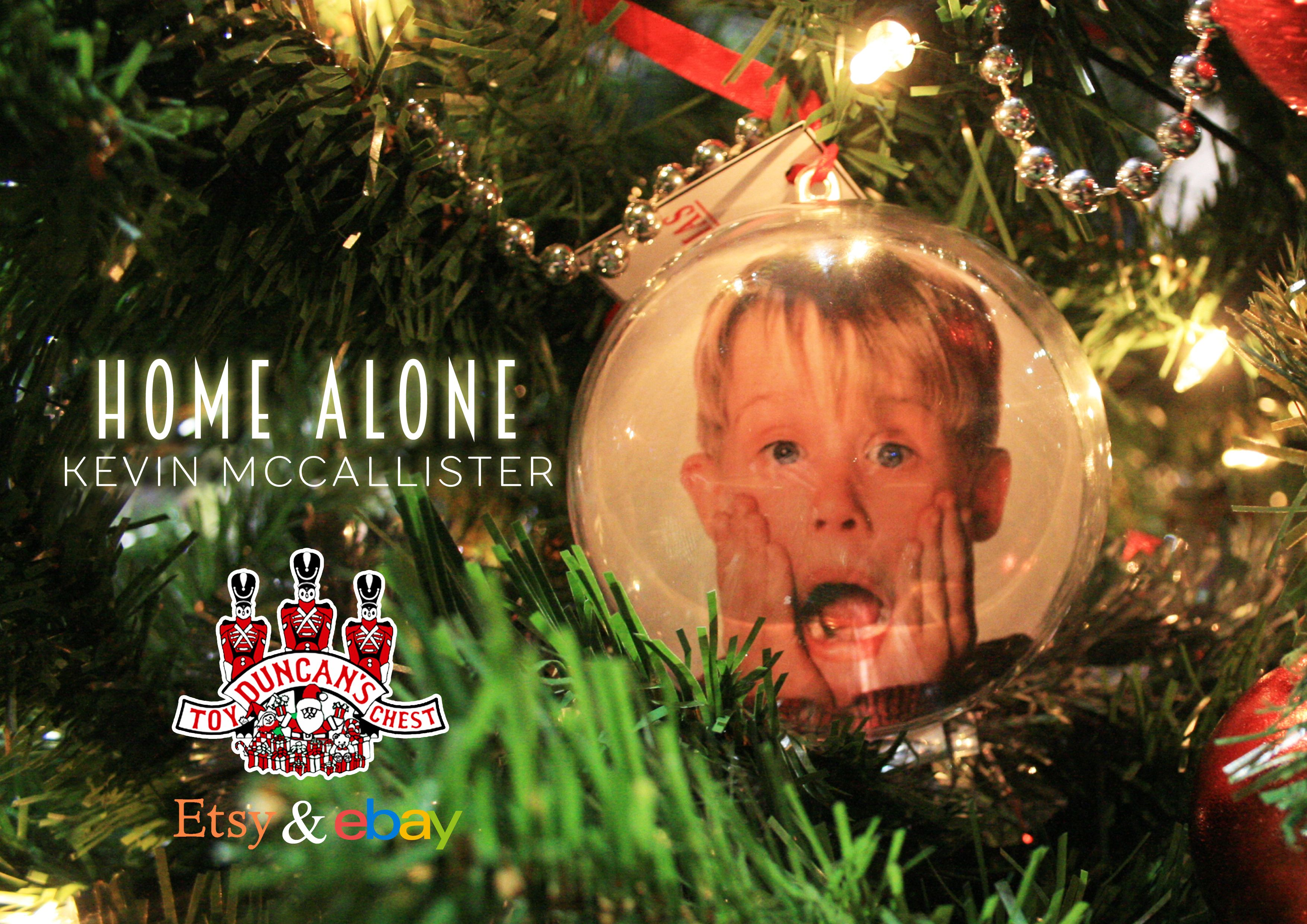 Home Alone Bauble Available At Https Www Etsy Com Uk Shop Duncanstoychest Christmas Tree Baubles Christmas Bulbs Christmas Ribbon