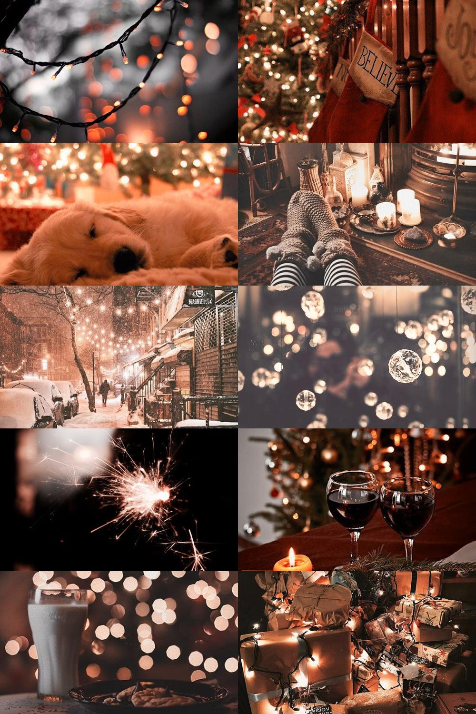 Christmas Eve Aesthetic By Skogsra Fond Ecran Trucs De