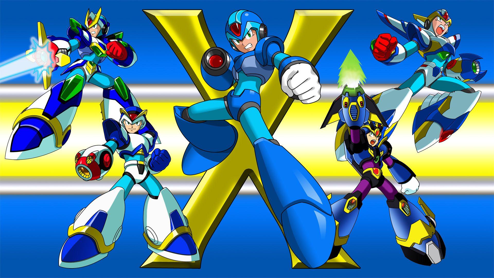 Megaman X Wallpaper By Fruitynite D Zsx Mega Man Cartoon Wallpaper Wallpaper