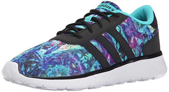 competitive price fb8d2 c1ce9 adidas NEO Womens Lite Racer W Running Shoe, Vivid Mint F14BlackWhite,  9.5 M US