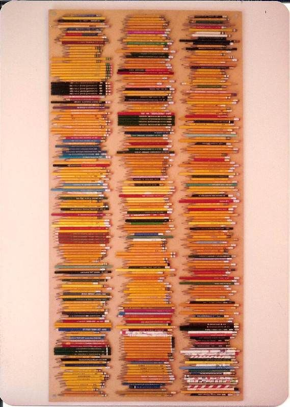 Pencil Collection Display