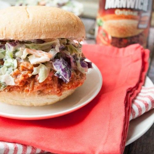Shredded Chicken Recipes – Try Our BBQ Chicken Sandwich with Slaw