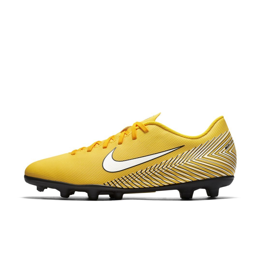 28c7fd1b18c Nike Mercurial Vapor XII Club Neymar Jr Multi-Ground Soccer Cleat Size 11.5  (Amarillo)