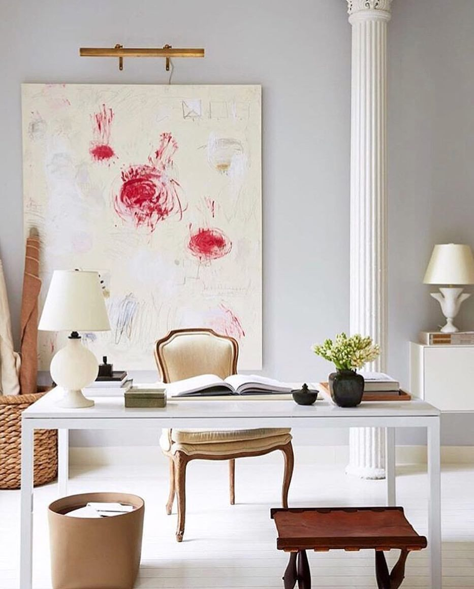 "Instagram Post By Interior Design Home Decor Inspire: Veranda Magazine On Instagram: ""An Office Space To Inspire"
