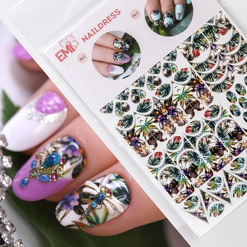 Stickers For Awesome 3d Nail Art Nail Art Designs Nail Salon