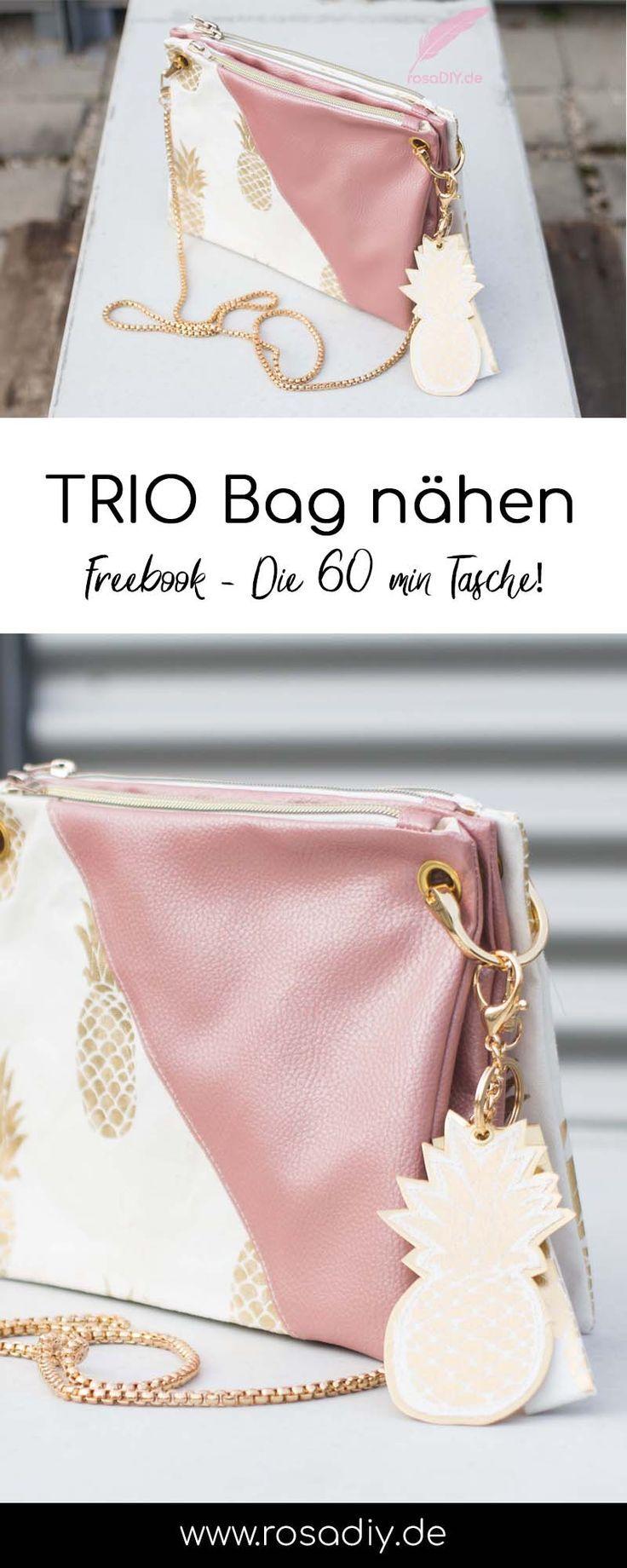 Trio Bag meets KAYA Bag – rosaDIY – Schöne Dinge machen das Leben schöner!