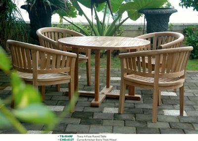 4 Foot Round Table + Frame. The Round Table Is A Perfect Addition For