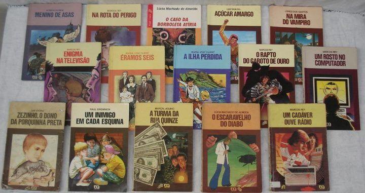 Coleção da minha infância, tive que ler todos no ensino fundamental...rs