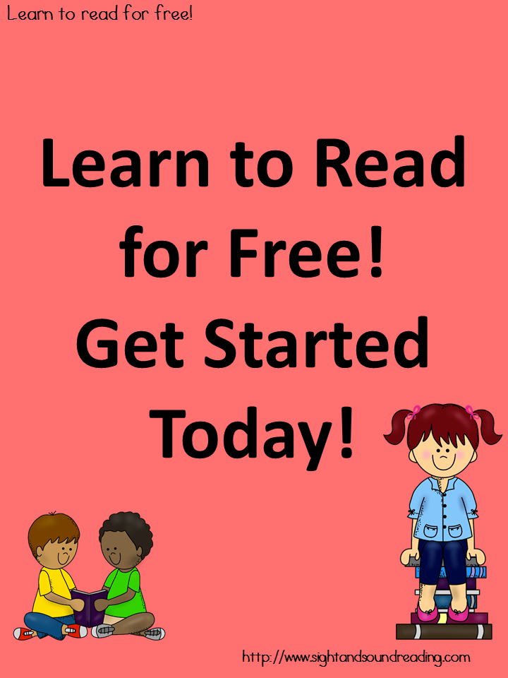 Learn to read for free! Get Started Today! | Homeschool Blogs to ...