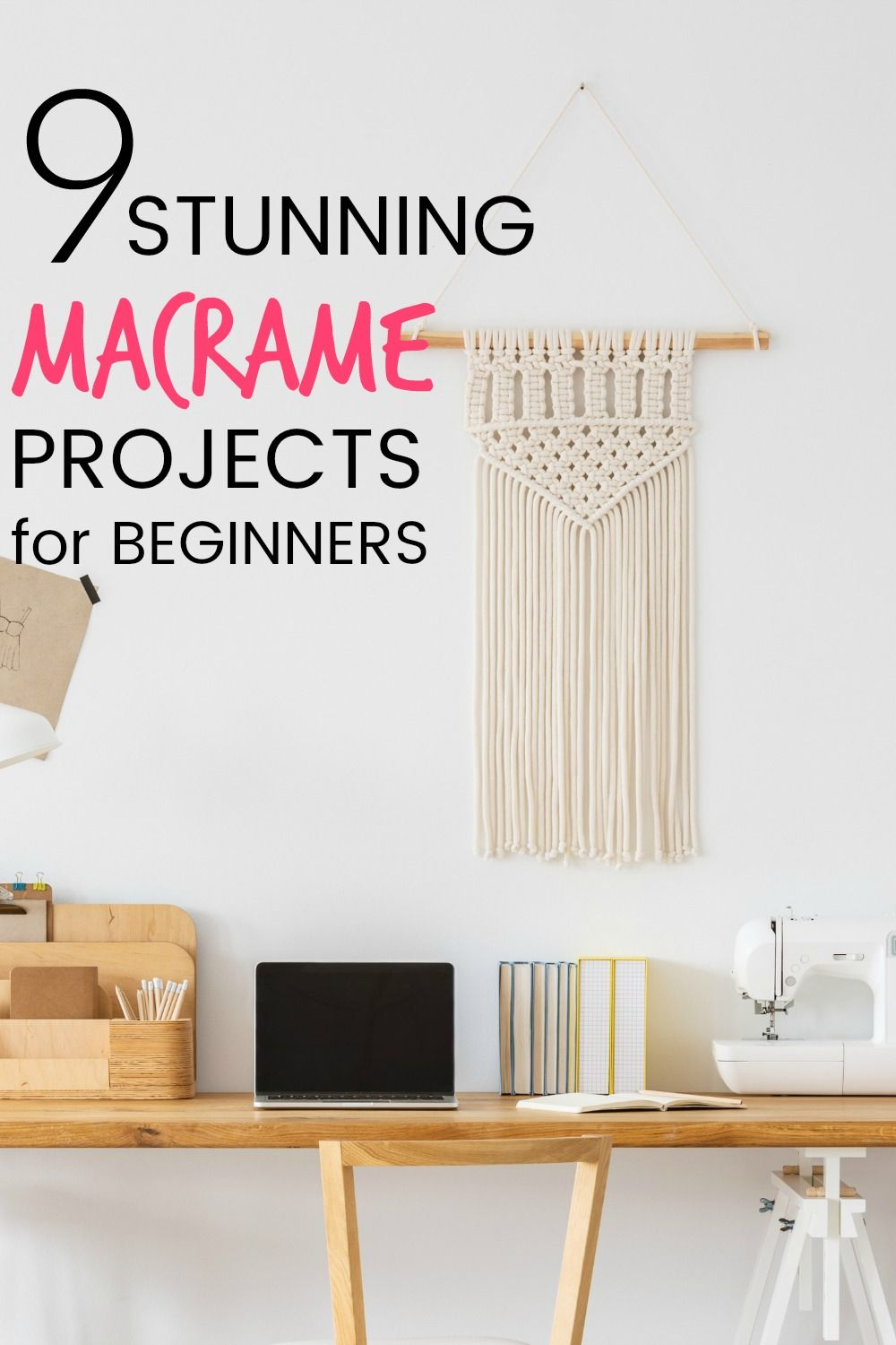 Macrame is back BABY! And it's not that hard to do. I've found 9 Stunning Macrame Projects that are perfect for beginners.