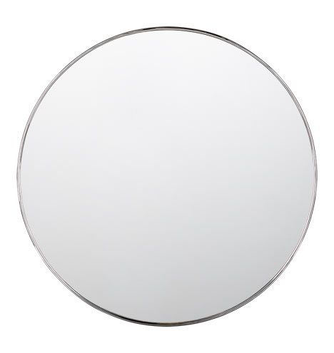 master bath mirrors rejuvenation metal framed mirror round polished chrome