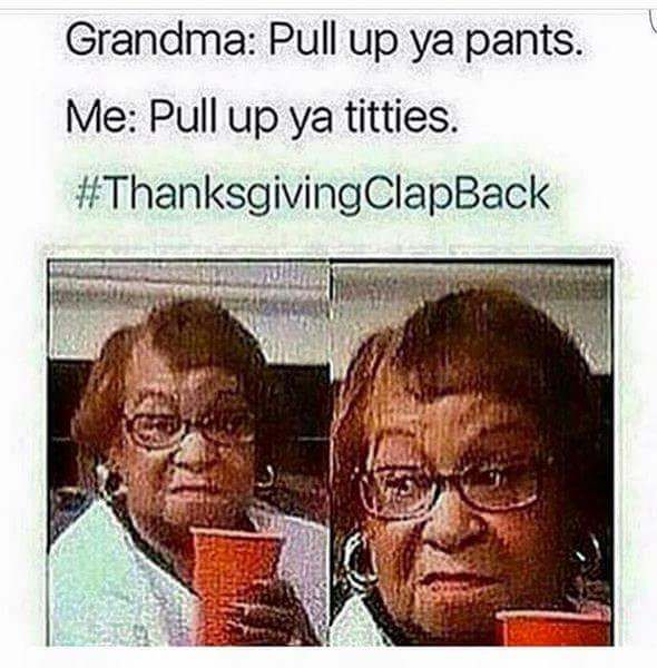 46 Thanksgiving Table Comebacks For Wrecking Annoying Family Members - Ftw Gallery