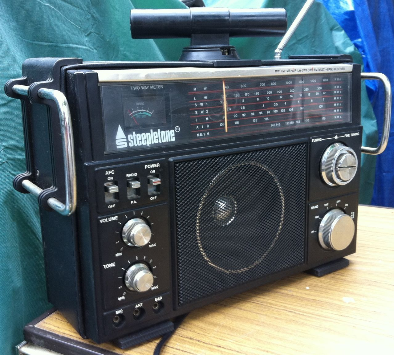 Steepletone Multi Band Receiver Mbr 7 Mbr7 Vintage Radio Old Radios Antique Radio