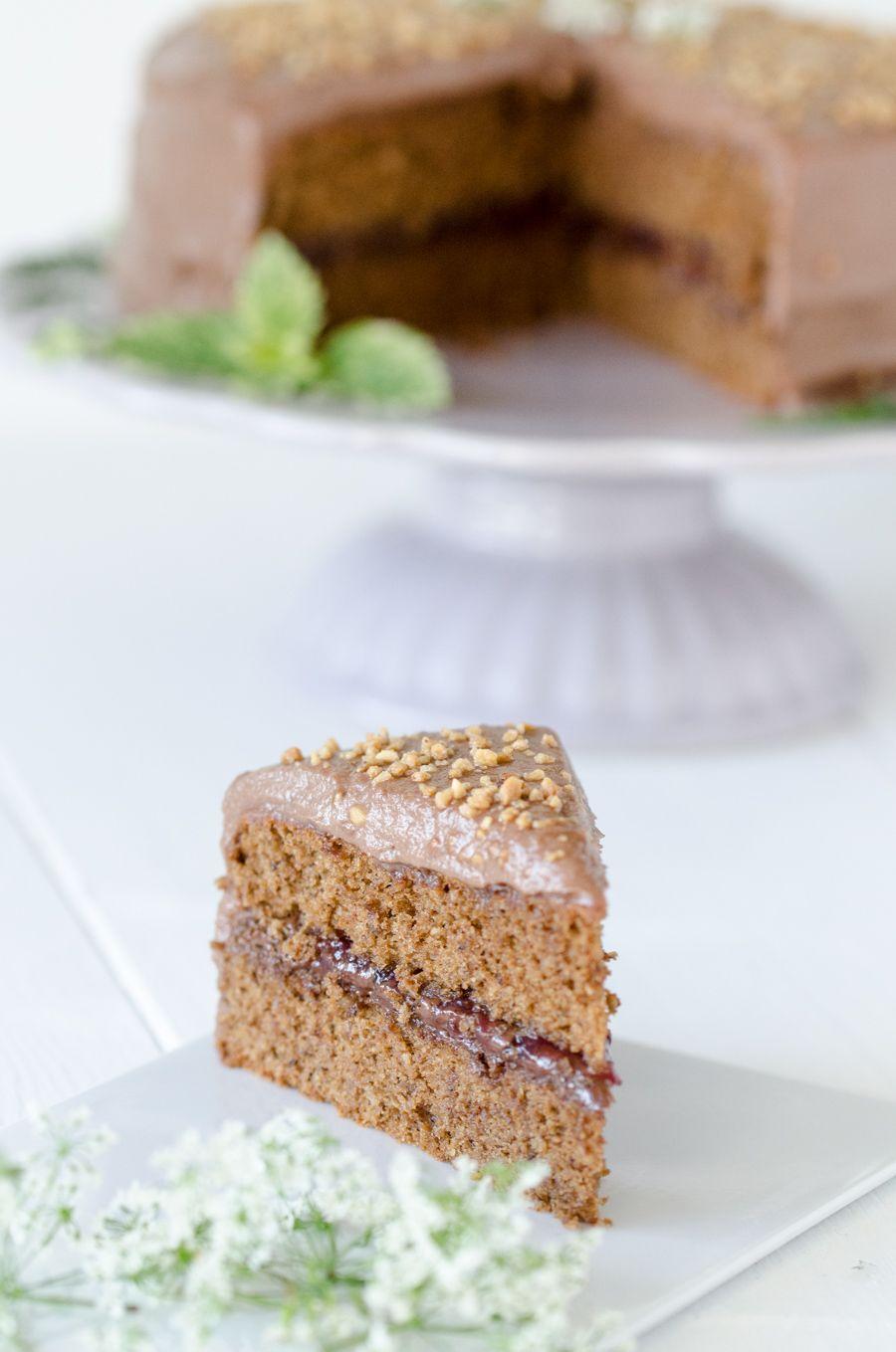 nusstorte mit nutella creme kuchen und torten rezepte