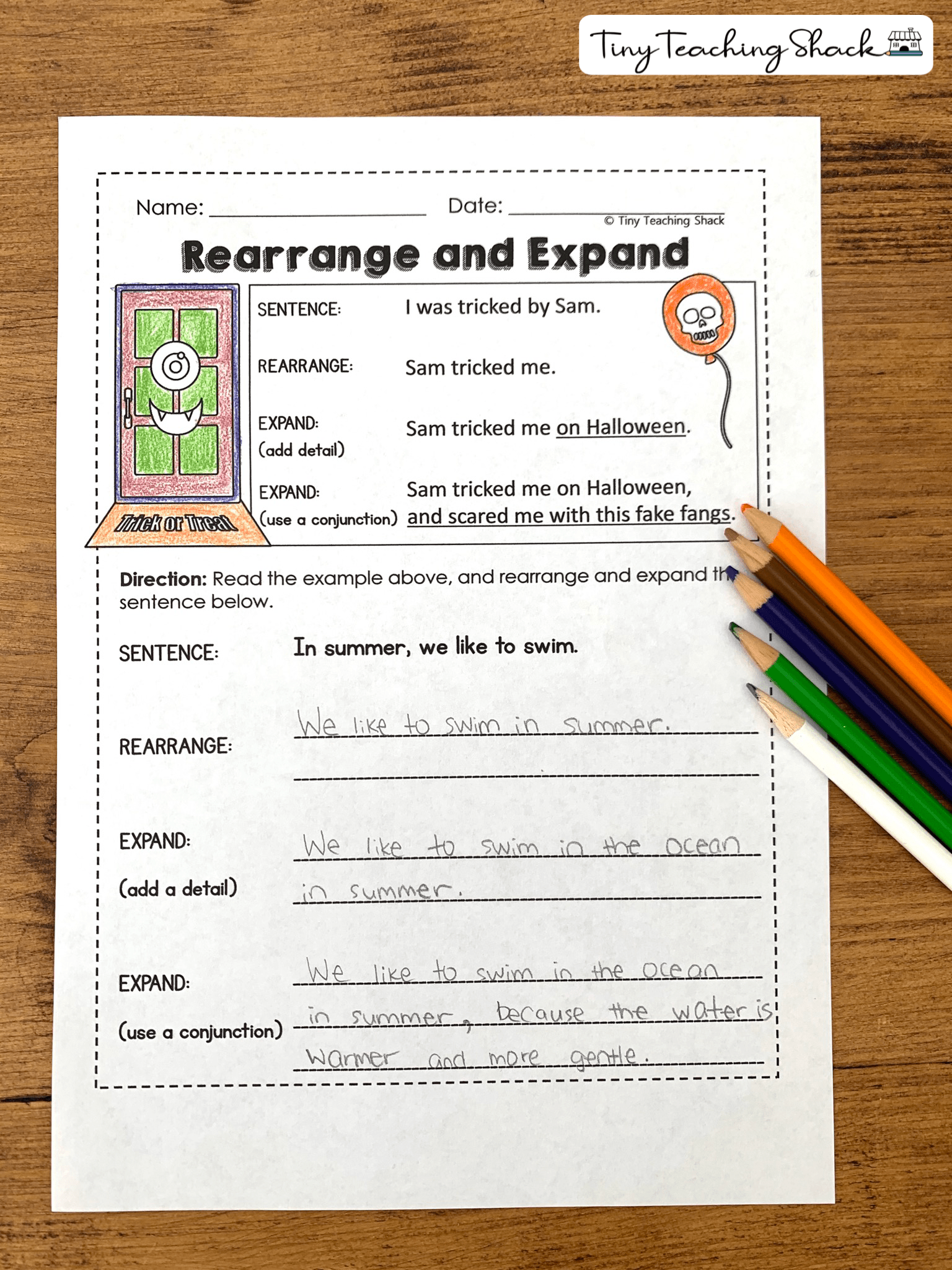 Rearranging And Expanding Setences Simple And Compound Sentences Compound Sentences Sentence Anchor Chart [ 2048 x 1536 Pixel ]