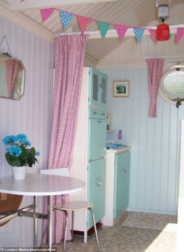 Despite many of the beach huts featuring a bed, kitchenette and ...