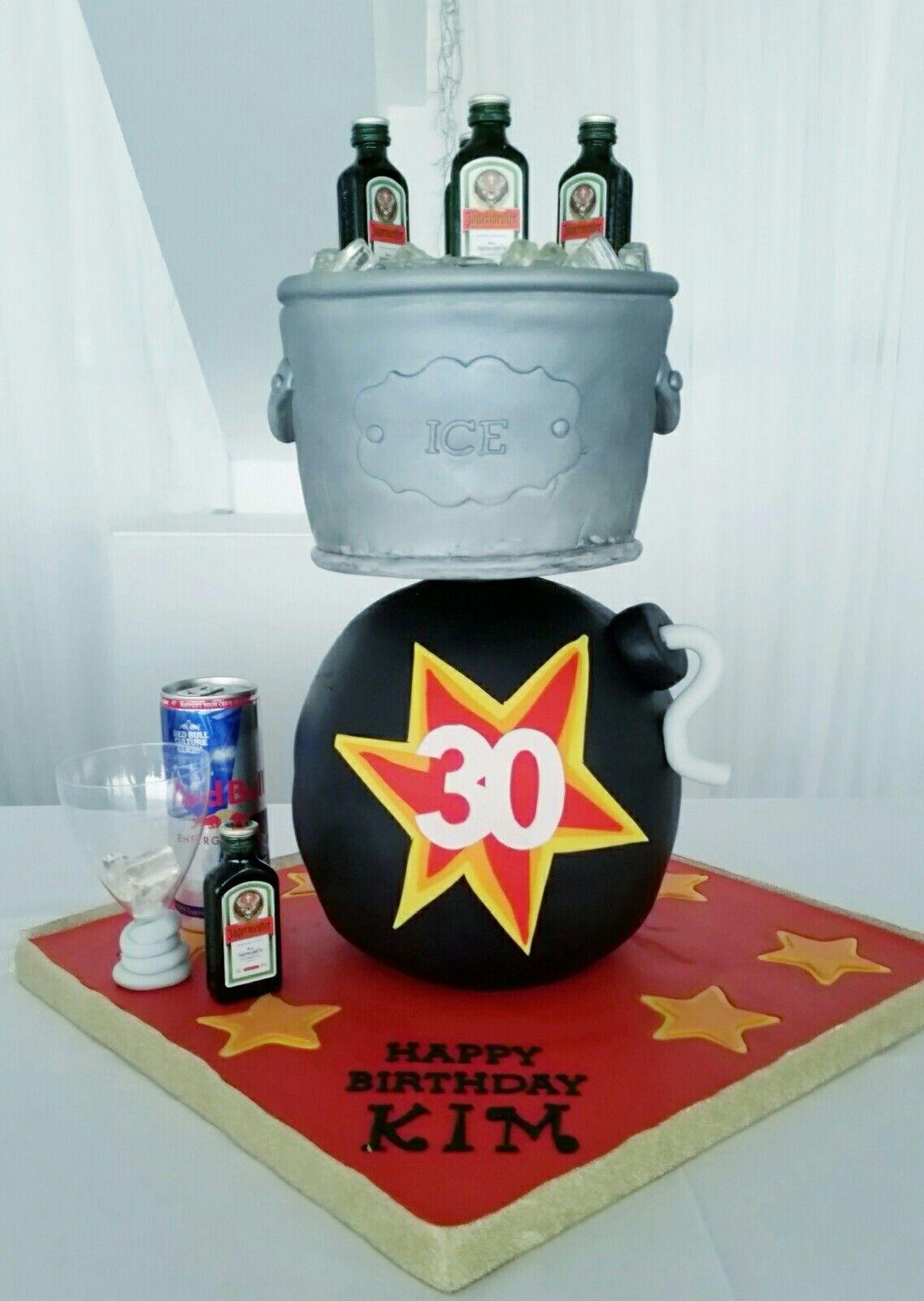 Jager Bomb Cake Jagermeister Jager Jagerbomb Jagercake Cake