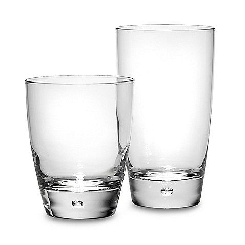 Dailyware Luna 16 Piece Drinkware Set Glassware Glass Set Types Of Glassware