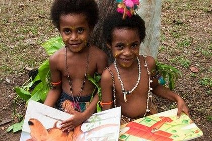 Education, culture and the well-being of our children are our highest values in Papua New Guinea.