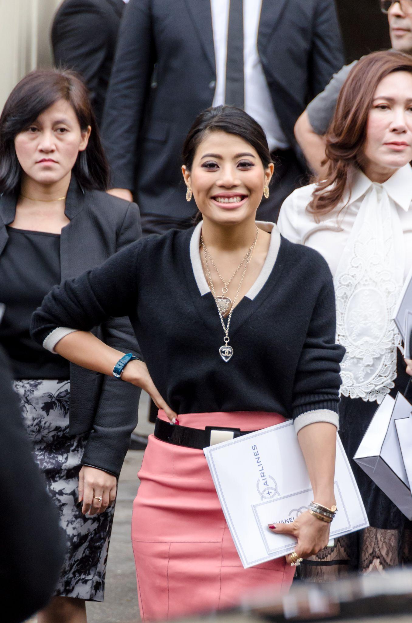 Princess Sirivannavari Narirat at the Chanel show - Paris Fashion Week