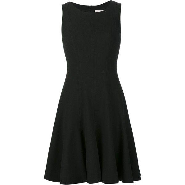 Carolina Herrera flared dress (7,465 SAR) ❤ liked on