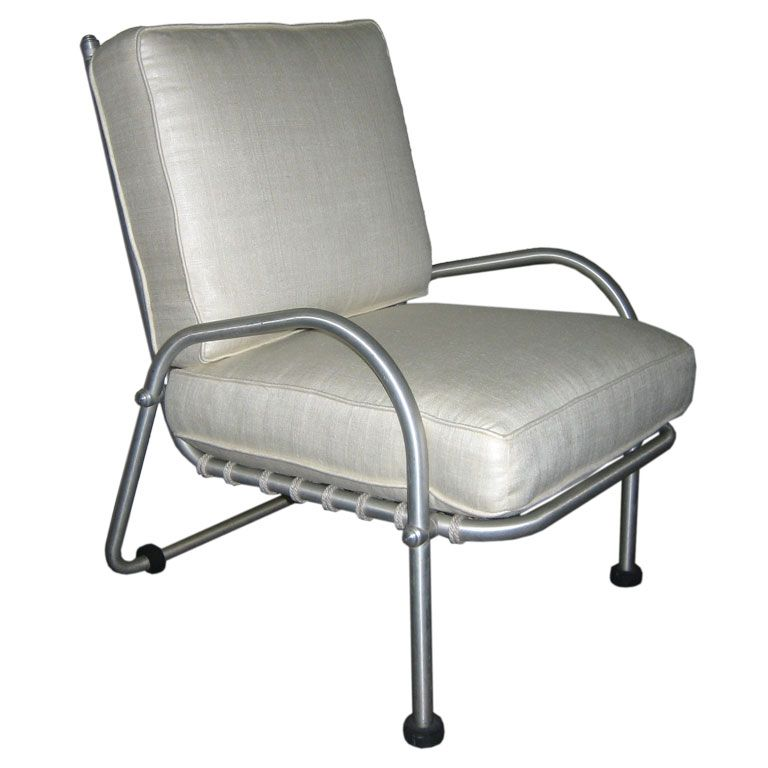 warren mcarthur lounge chair from the biltmore usa 1940's a