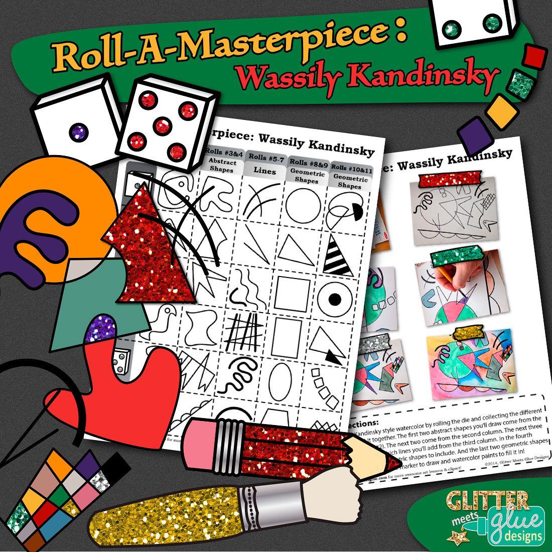 Art Lesson Wassily Kandinsky Art History Game Art Sub
