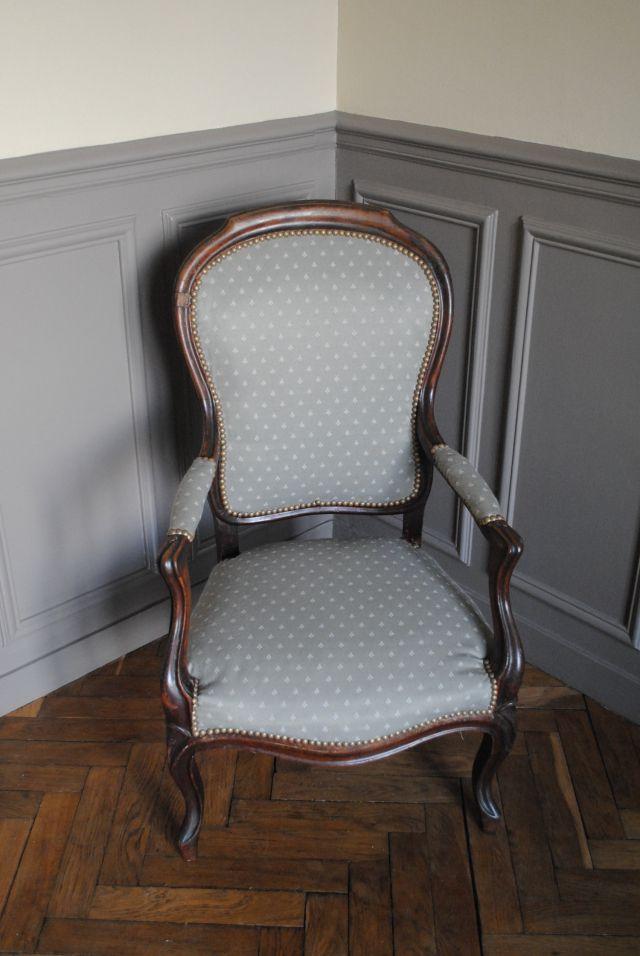 diy retapisser un fauteuil 08 home staging et recyclage pinterest fauteuils pour. Black Bedroom Furniture Sets. Home Design Ideas