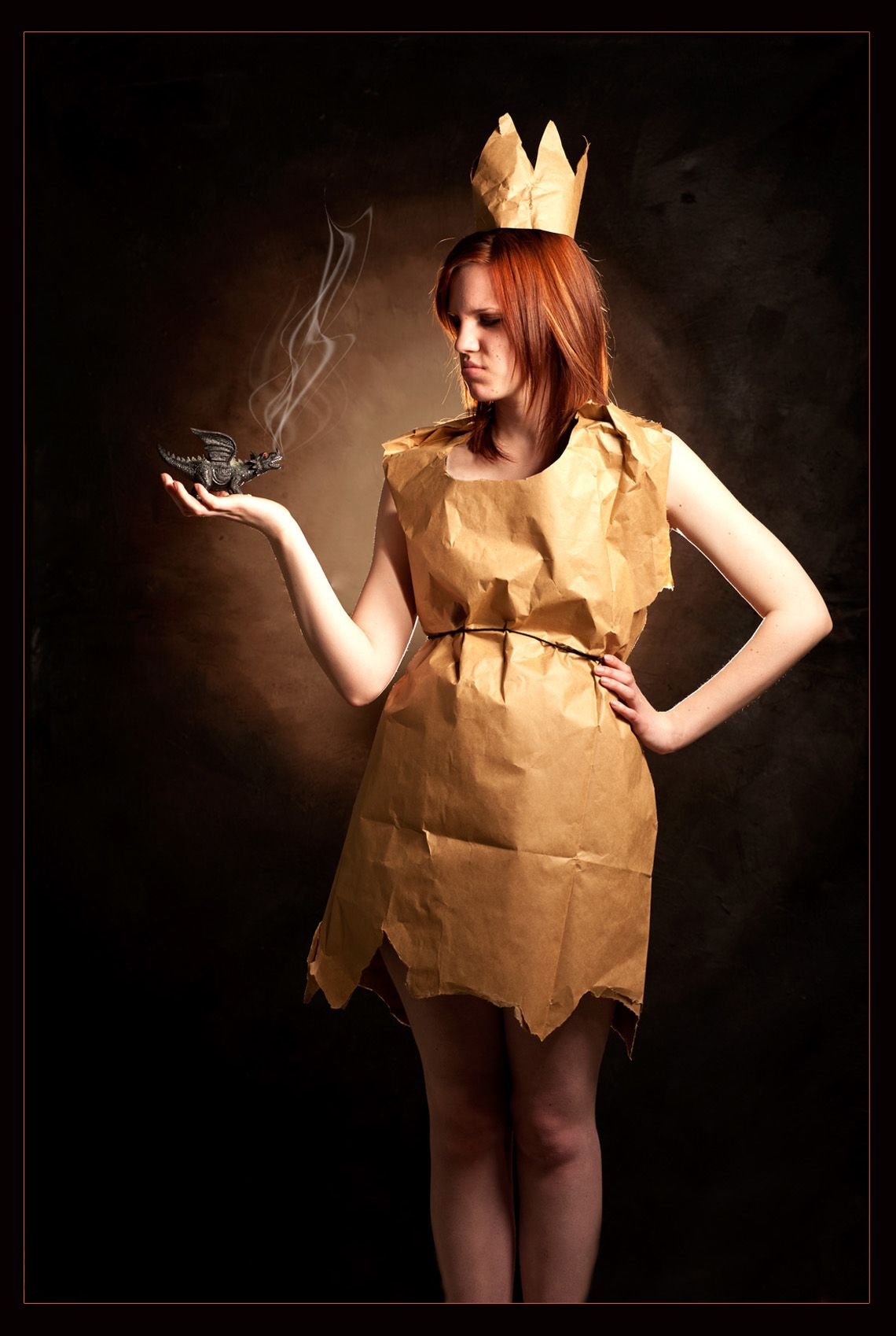 Katelyn Franssen Paper bag princess costume, Character