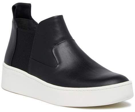 Via Spiga | Eren High Top Wedge Sneaker