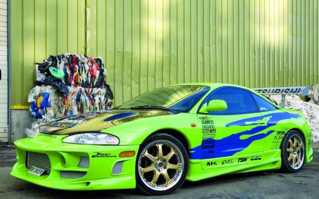 Ten Worst Movie Cars Paul Walkers Mitsubishi Eclipse From - Fast 4 car list