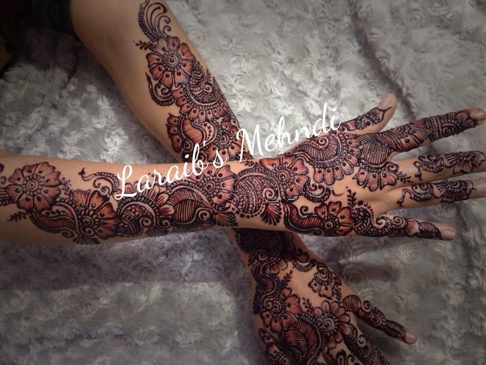 Bridal Mehndi Gta : Laraib s mehndi design bridal designs