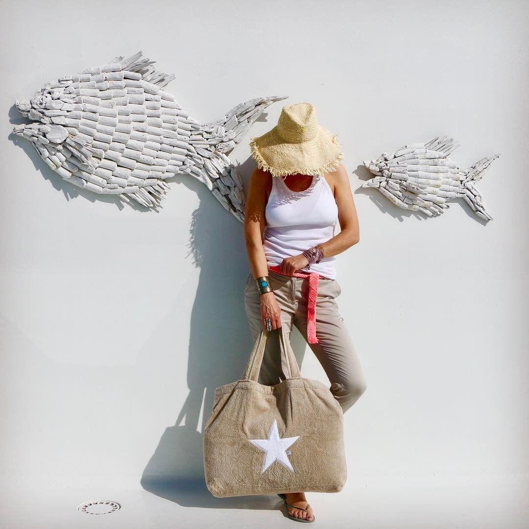 Strandtasche mit Stern von BYRH - Onlineshop www.byrh.de ...