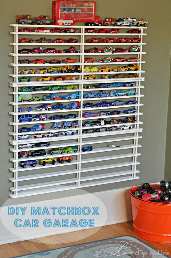 DIY Matchbox Car Garage - Best of DIY at Centsational Girl 564125f53