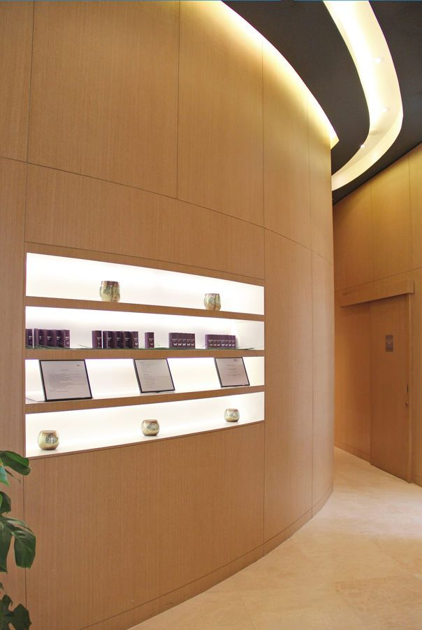 Swiss Bureau Interior Design Designed DNA Clinic Abu Dhabi