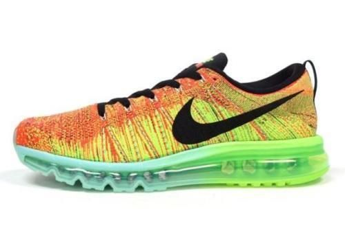 Nike Flyknit Air Max Multicolor Running Shoes Sport Shoes ...