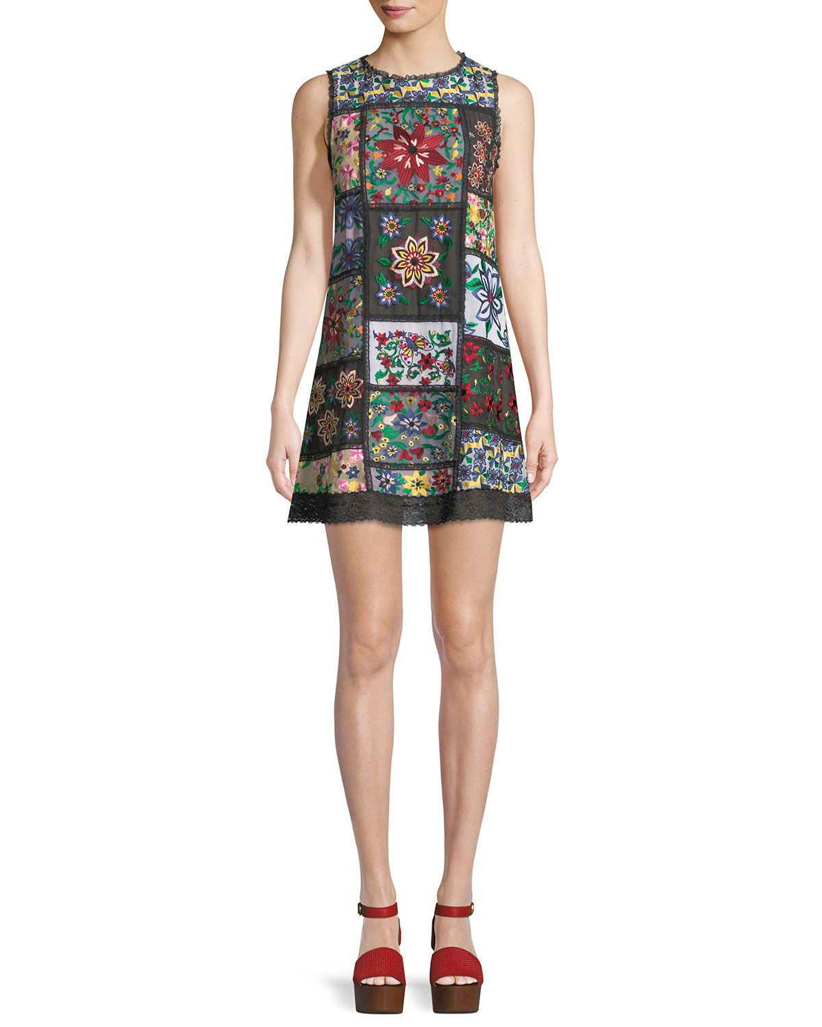 Recommend Cheap Online Hayden Star Jacquard Tee Dress Alice & Olivia Free Shipping Online Genuine Inexpensive For Sale Free Shipping Cheapest Price Zb7MOpi