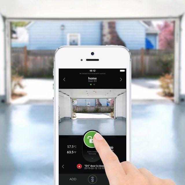 Gogogate2 Wireless Garage Door Opener Garage Door Sensor Garage