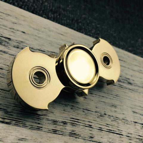 Batman Brass Hand Spinner Fidget Toy Free Shipping
