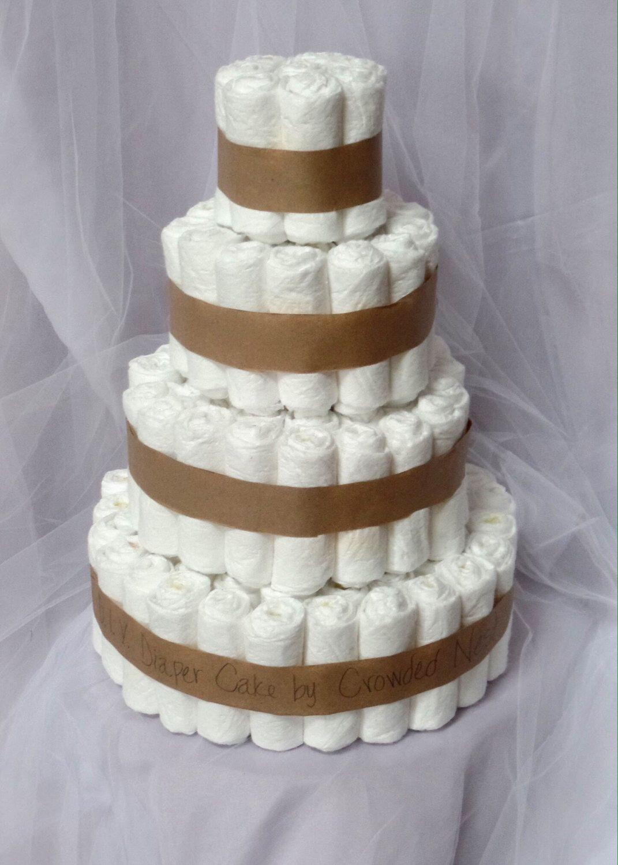 Diaper Cake Plain Diaper Cake Diy Diaper Cake Baby