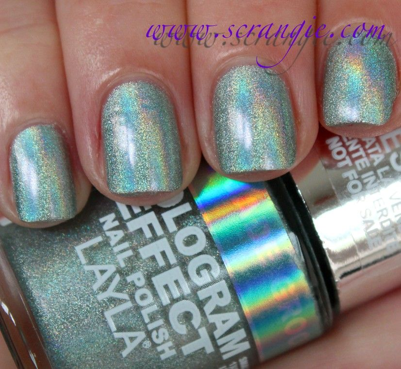 Nail Care Scrangie Layla Hologram Effect Polish