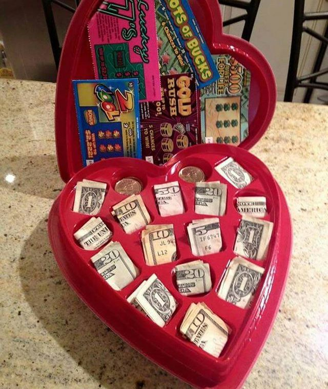 Valentineday Gift Idea But Hold The Pennies Swap Those