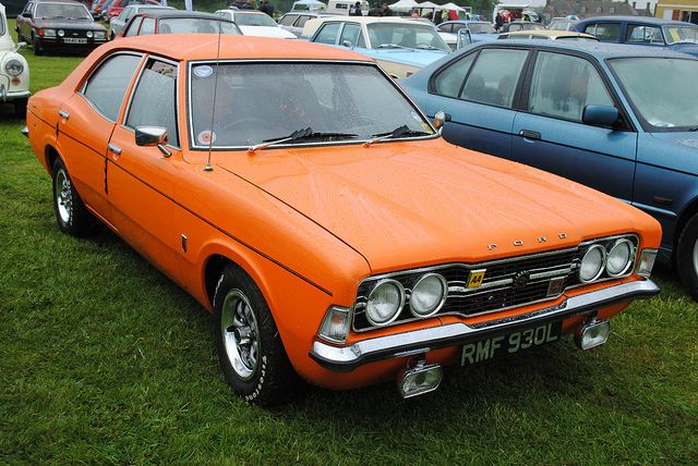 Ford 1972 Cortina Gt Mk3 2ltr Rmf 93ol Old Classic Cars Classic Cars Ford